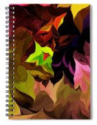 Abstract 012014 Spiral Notebook