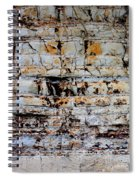 Abstract 01c Spiral Notebook