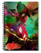 Abstract 022114fa Spiral Notebook