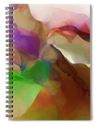 Abstract 030213 Spiral Notebook