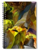 Abstract 042113 Spiral Notebook
