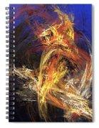 Abstract 042113a Spiral Notebook