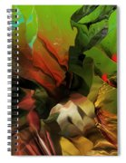 Abstract 050713 Spiral Notebook