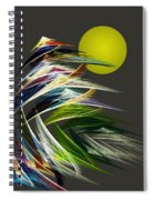 Abstract 051013 Spiral Notebook
