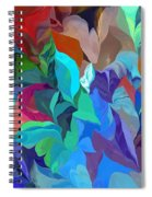 Abstract 062713 Spiral Notebook