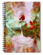 Abstract Series 07 Spiral Notebook