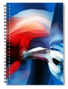 Abstract 071713 Spiral Notebook