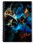 Abstract 080613 Spiral Notebook