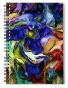 Abstract 082713b Spiral Notebook