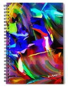 Abstract 082713d Spiral Notebook