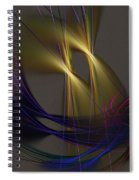 Abstract 090613 Spiral Notebook