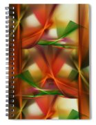 Abstract 092313 Spiral Notebook