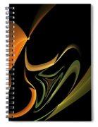 Abstract 092713 Spiral Notebook