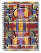 Abstract 94 Spiral Notebook