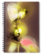 Abstract 100813 Spiral Notebook