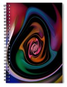 Abstract 100913 Spiral Notebook