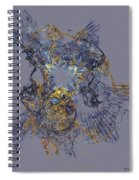 Abstract 101913 Spiral Notebook