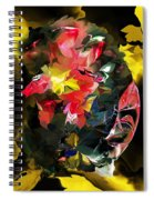 Abstract 102513 Spiral Notebook