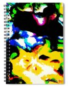 Abstract 103 Spiral Notebook