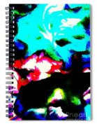 Abstract 105 Spiral Notebook