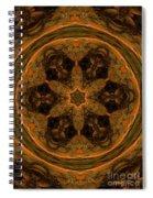 Abstract 105b Spiral Notebook