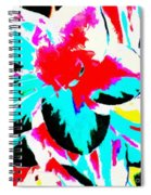 Abstract 107 Spiral Notebook