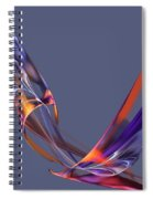Abstract 111913 Spiral Notebook