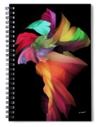 Abstract 112313 Spiral Notebook
