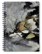 Abstract 1189963 Spiral Notebook