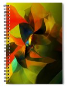 Abstract 120412 Spiral Notebook