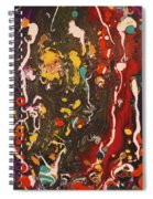 Abstract 13 - Life On The Ocean Floor Spiral Notebook