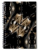 Abstract 131 Spiral Notebook