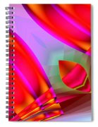Abstract 134 Spiral Notebook