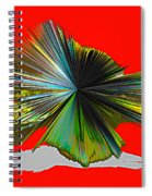 Abstract #140810 - Untitled  Spiral Notebook