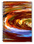 Abstract #140814 - Inside The Pipeline Spiral Notebook