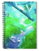 Abstract 15 Spiral Notebook