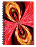 Abstract 151 Spiral Notebook