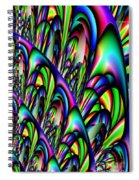 Abstract 155 Spiral Notebook