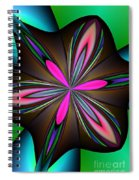 Abstract 157 Spiral Notebook