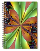 Abstract 159 Spiral Notebook