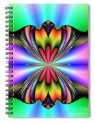 Abstract 160 Spiral Notebook