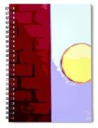 Turning The Corner Spiral Notebook