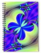 Abstract 167 Spiral Notebook