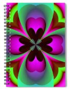Abstract 169 Spiral Notebook