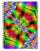 Abstract 172 Spiral Notebook