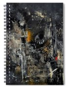 Abstract 184150 Spiral Notebook