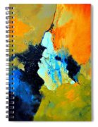 Abstract 211102 Spiral Notebook