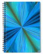 Abstract 221 Spiral Notebook