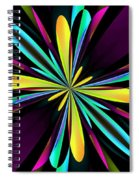 Abstract 222 Spiral Notebook