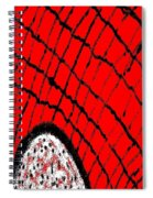 Abstract #23 Spiral Notebook